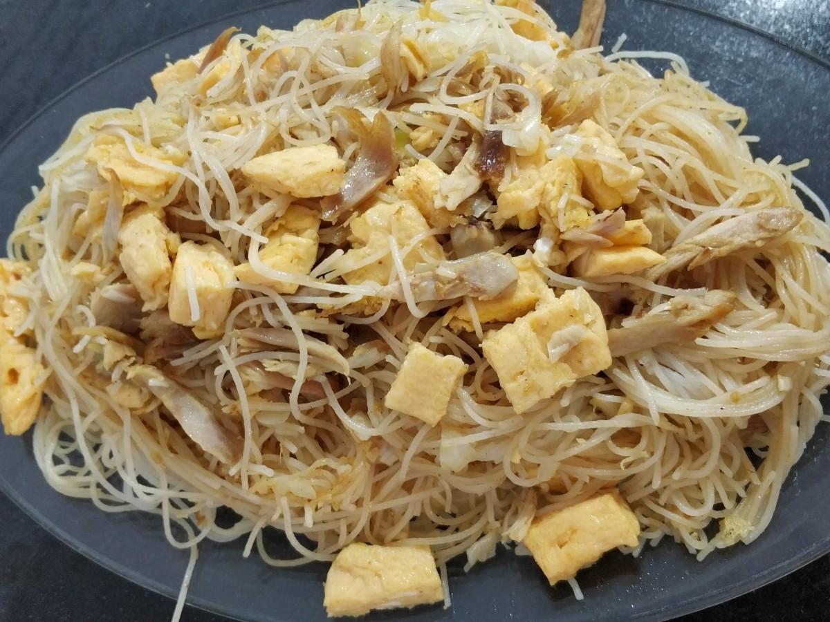 noodles al curry