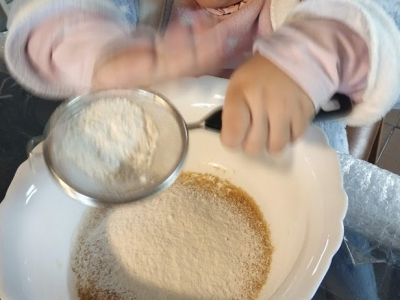 cocinar con niños tranquilitamente